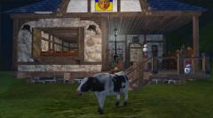 Корова Ездовая