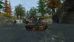 Ослик в лодке